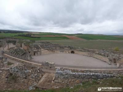 Parque Arqueológico Segóbriga-Monasterio Uclés;mochilas de acampada parque natural del hayedo de